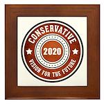 Conservative Vision Framed Tile