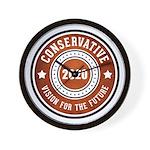 Conservative Vision Wall Clock