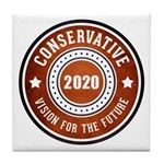 Conservative Vision Tile Coaster