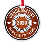 Conservative Vision Ornament