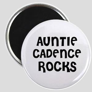 AUNTIE CADENCE ROCKS Magnet