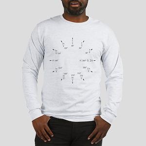Trigonometry (Rad/Deg) Long Sleeve T-Shirt