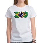 Brazilian flag colours BJJ Women's T-Shirt