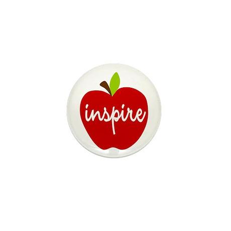 Inspire Apple Mini Button (10 pack)