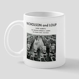 1968 ~ Nicholson and Loup Mug