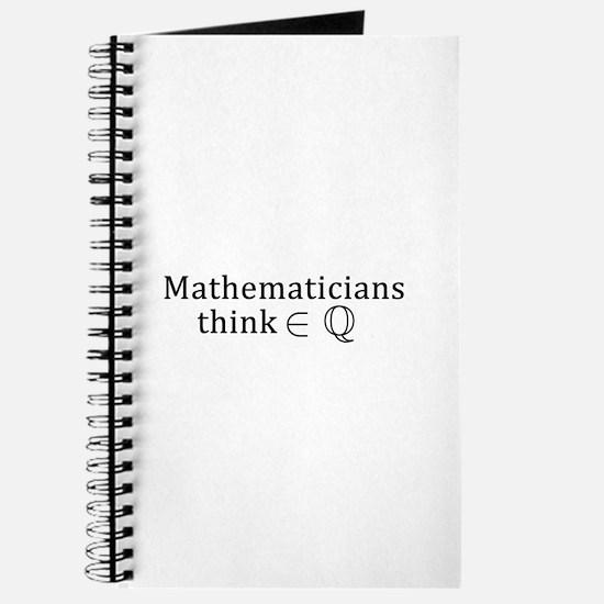 Mathematicians think rationally Journal