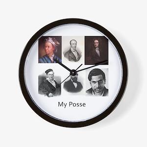 My posse Wall Clock