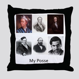My posse Throw Pillow