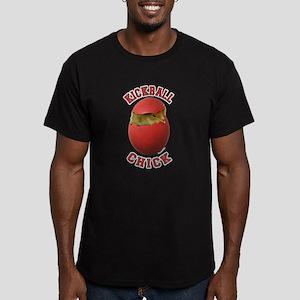 Kickball Chick Men's Fitted T-Shirt (dark)