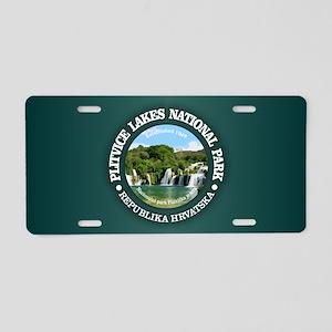 Plitvice Lakes NP Aluminum License Plate