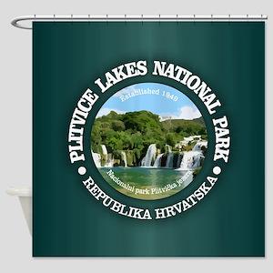 Plitvice Lakes NP Shower Curtain