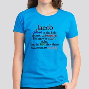 Jacob Black Twilight funny Women's Dark T-Shirt