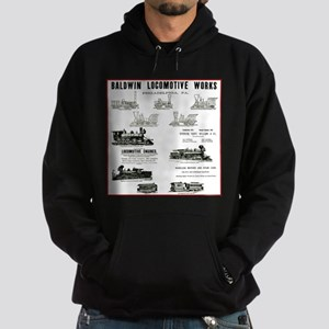 The Baldwin Locomotive Works Hoodie (dark)