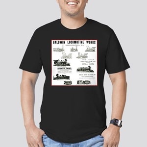 The Baldwin Locomotive Works Men's Fitted T-Shirt
