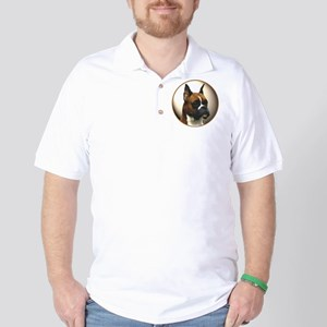 The Boxer Dog Golf Shirt