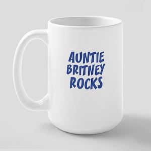AUNTIE BRITNEY ROCKS Large Mug