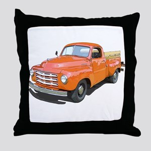 The Studebaker Pickup Truck Throw Pillow