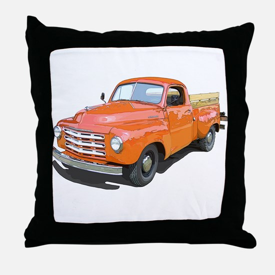 The Studebaker Pickup Truck Throw Pillow