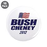 "Bush Cheney 3.5"" Button (10 pack)"