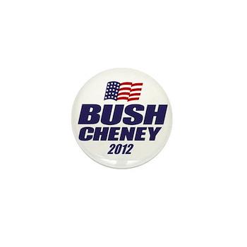 Bush Cheney Mini Button