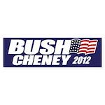Bush Cheney Bumper Sticker (50 pk)