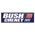 Bush Cheney Bumper Sticker (10 pk)
