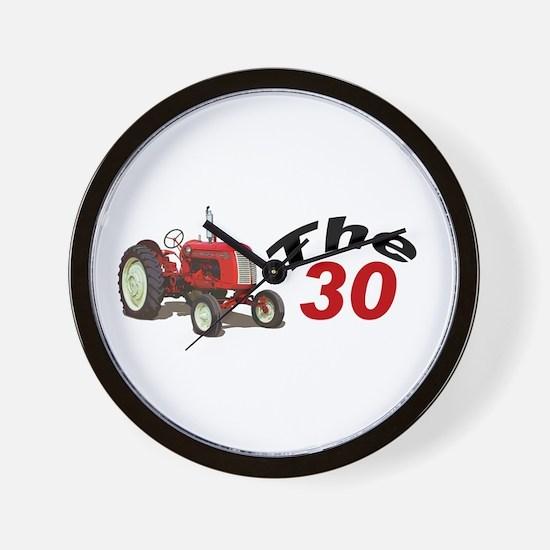 Tractor pulls Wall Clock