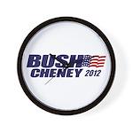 Bush Cheney Wall Clock
