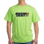 Bush Cheney Green T-Shirt