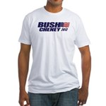 Bush Cheney Fitted T-Shirt