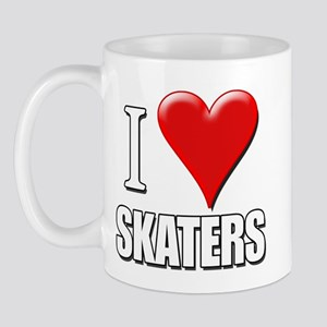 I Love (Heart) Skaters Mug