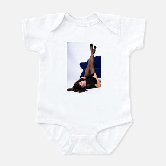 Attractive Girl Infant Bodysuit