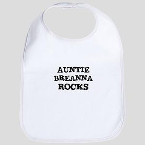 AUNTIE BREANNA ROCKS Bib