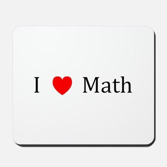 I Heart Math Mousepad