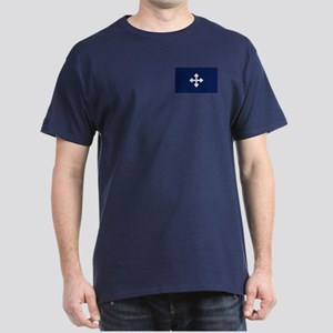 Bottony Blue Dark T-Shirt