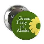 Alaska Green Party political button