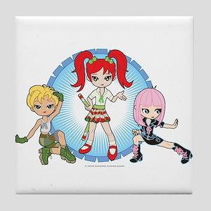 Lil' Sisters Trio Tile Coaster