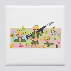 Ricochet's World Tile Coaster