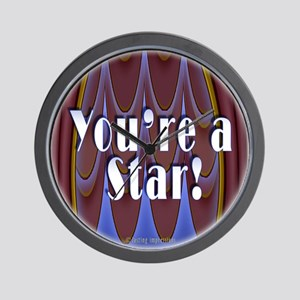 You're a Star! Wall Clock