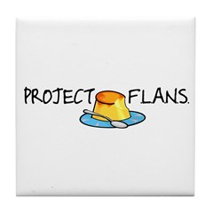 Project F.L.A.N.S. Tile Coaster