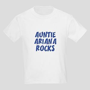 AUNTIE ARIANA ROCKS Kids T-Shirt