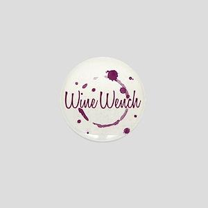 Wine Wench Mini Button