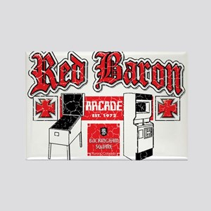 Red Baron Arcade Aurora CO Rectangle Magnet