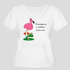 012f507f54d87 Pink Flamingo Gift Ideas Women s Plus Size T-Shirts - CafePress