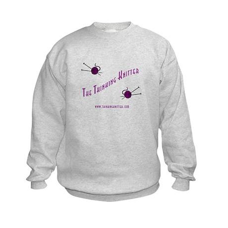 Thinking Knitter Kids Sweatshirt