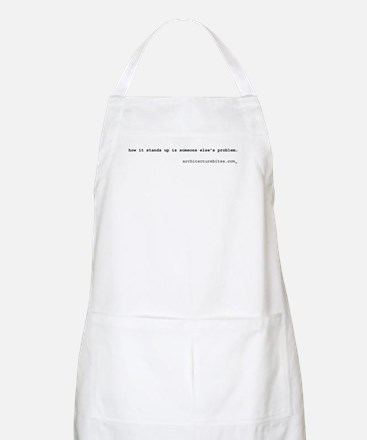 how it stands up is someone e BBQ Apron