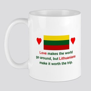 Love Lithuanians Mug