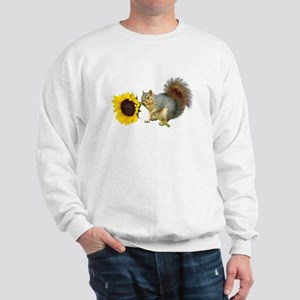 Squirrel Sunflower Sweatshirt