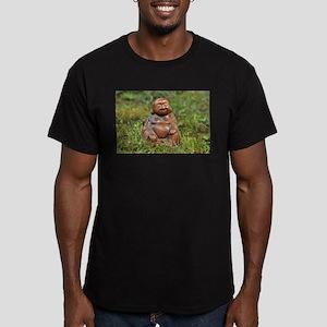 Buddha 2 Men's Fitted T-Shirt (dark)