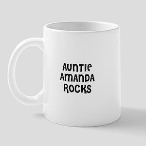 AUNTIE AMANDA ROCKS Mug